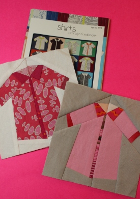 give a pink shirt
