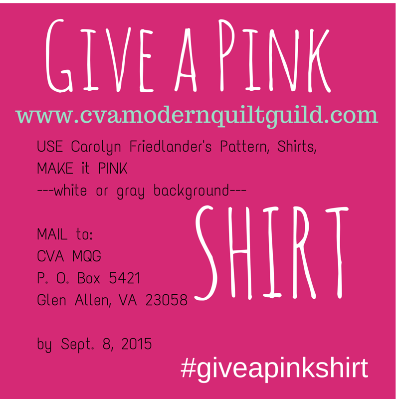 Give A Pink Shirt