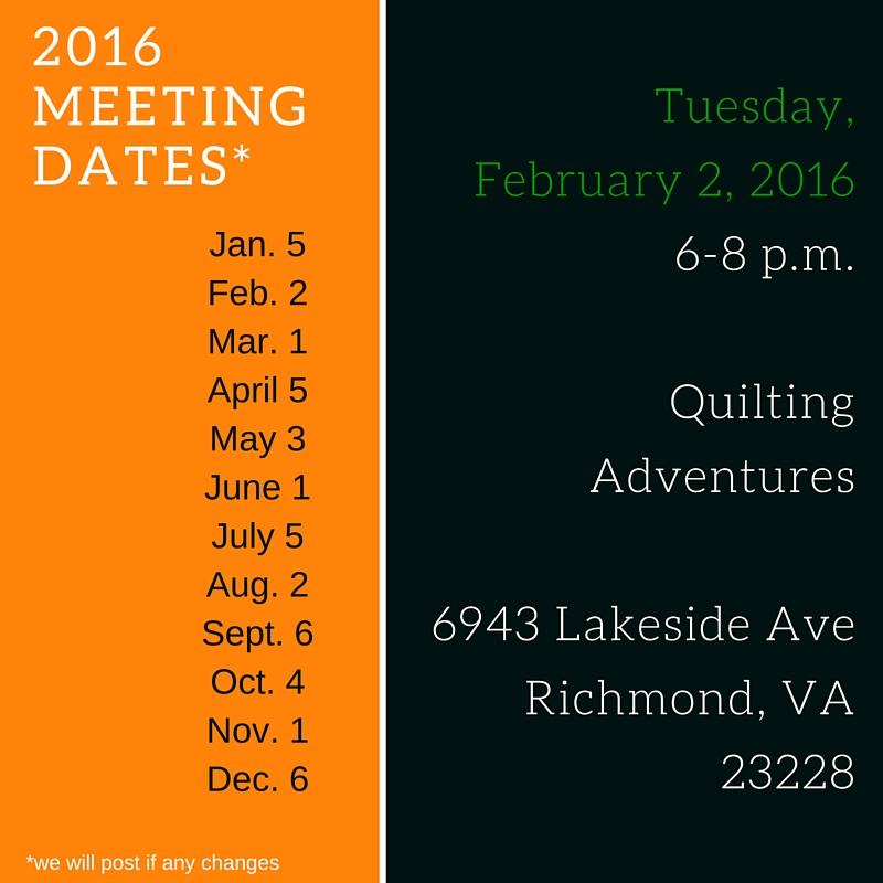 February 2016 Meeting Date