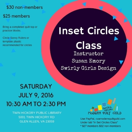Inset circles web size