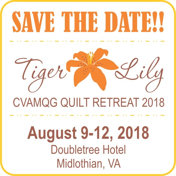 2018 Retreat Save the Date